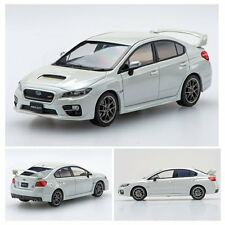 1/43 2014 SUBARU WRX STI IN WHITE BY EBBRO RARE JDM DIECAST MODEL CAR 45309 BNIB