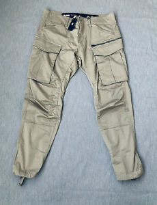 G Star Rovic Men Combat Cargo Trousers Size W38x34L