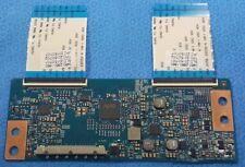 SHARP model LC-43LE653U T420HVN06.3 42T34-C03 T-CON BOARD W/ Ribbons E205 4B3E