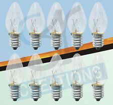 10 X 5W (240V SES E14) - Clear Bulbs for Salt Lamps/Senenite Lamps