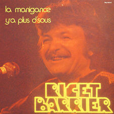 RICET BARRIER La Manigance, Y'a Plus D'sous FR Press M MLP 900 145  LP NM