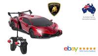 1/24 Scale Lamborghini Veneno Car RC - Radio Remote Control Sport Racing Car Red