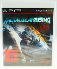 Metal Gear Rising Revengeance komplett in OVP Sony Playstation 3 PS3 NEU