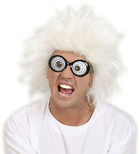 LUNATIC WIG CRAZY SCIENTIST MAD PROFESSOR ADULT NOVELTY CRAZY