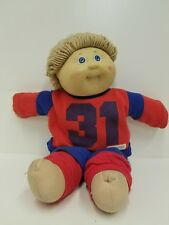 Vintage cabage patch kids doll #31 1984 tan hair blue eyes boy