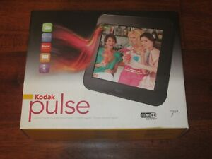 "Kodak Pulse 7 inch Digital Photo Frame Wifi Touchscreen 7""/17.8cm NEW SEALED"