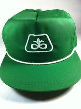 Retro Vintage Green Pioneer Farm Seed Feed Trucker Baseball Cap Hat