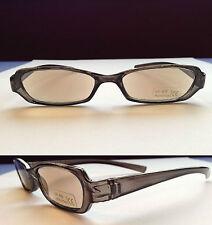 +2.0 Slim Black Grey Reading Sunglasses Tinted Specs Glasses +2.00 2 A