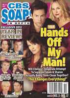 CBS Soaps In Depth Magazine December 17 2012 Year In Review Michael Muhney