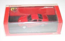 1/43 ABARTH SIMCA 1300 1962 RED STREET VERSION BLACK INTERIOR SPARK MODEL