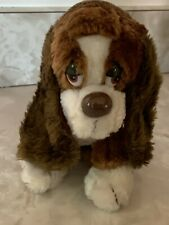 Vintage Baxter Dog Plush Doll #871 By Russ
