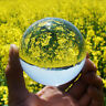 Clear Crystal Ball Magic Healing Meditate Sphere Photography 60mm + Stand Uk