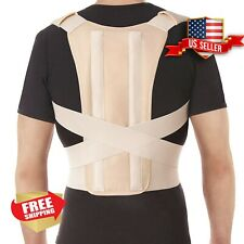 Adjustable Back Comfort Posture Corrector Support Brace for Men Women