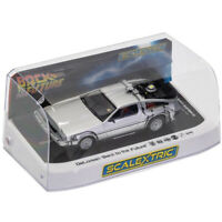 Scalextric C4117 DeLorean - Back to the Future 1/32 Slot Car Digital Plug Ready