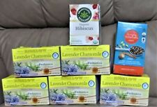 Variety Lot of 7 Lavendar Chamomile, Chai & Hibiscus Teaa
