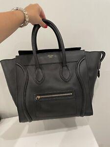 AUTHENTIC Black Celine Luggage Medium