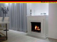 GELKAMIN ETHANOLKAMIN KAMIN CAMINO FIREPLACE MODELL BERLIN Deluxe Royal Weiss