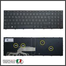 TASTIERA PER HP PROBOOK 450 455 470 G5 NERA CON FRAME ITALIANA