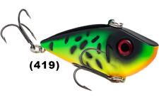 2 Strike King Red Eye Shad 1/2 Oz Fire Tiger Rattle Baits Crankbait Fishing Lure