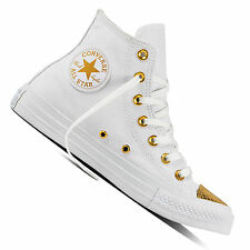 Converse Chuck Taylor All Star HI Damen-Sneaker Chucks Turnschuhe Metallic Gold