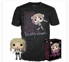 Britney Spears Funko Pop Collectors Edition XL T-Shirt & Bonus CD