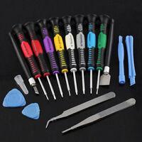16 in 1 Handy Reparatur Werkzeug Schraubendreher Set Kit für iPhone 5 6 iPad Neu