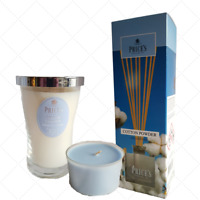 Reed Diffuser,Candle,Prices COTTON POWDER Clean Fresh Cool Room Fragrance