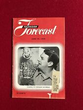 """1949, Howdy Doody, """"TELEVISION FORECAST"""" (RARE)"""