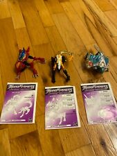 Transformers robots in disguise LOT Gas Skunk, Slapper, Dark Scream
