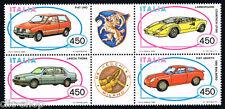 ITALIA IL BLOCCO AUTOMOBILISTICHE ITALIANE AUTO VEICOLI 1985 nuovo**