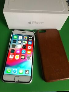 iPhone 6 Silver 16GB - Unlocked - Excellent condition 9/10 + Free gift