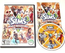 The Sims 3 World Adventures Game Complete PC Windows Mac 2009 Expansion