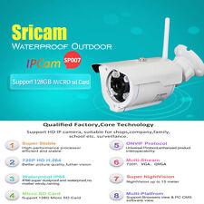 Sricam SP007 1.0MP IP Kamera Pan-Tilt Wasserdicht Kabellos Webcam Alarm Funktion