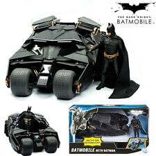Batman The Dark Knight Tumbler Black Car Batmobile Vehicle Action Figure Kid Toy