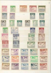 CHILE 1948-59 ISSUES (133+ 1 SOUVENIR SHEET)