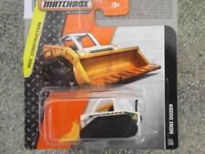 Matchbox 2014 #111/120 MINI DOZER blanc MBX Construction étui F Neuf Fonte