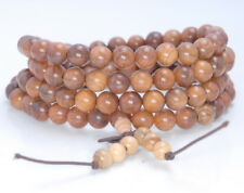 8MM  ROSEWOOD PEARWOOD ROUND LOOSE BEADS 32/""