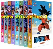 DRAGON BALL SERIE TV COMPLETA (32 DVD  8 BOX) 153 EPIS.