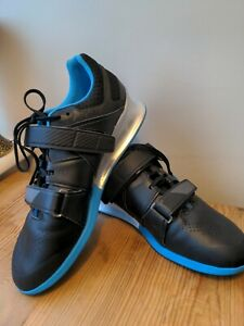 Reebok Legacy Lifter Mens Weightlifting Shoes Black Blue (Size 11)