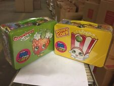 Shopkins Collector is Tin Lunchbox, Set Of 2 With Stickers And More!