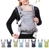 Adjustable Ergonomic Infant Baby Carrier W/ Hip Seat Stool Wrap Sling Backpack
