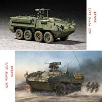 Trumpeter 00375 07255 1/35 1/72 Scale US M1126 Stryker ICV Assembly Model Kits