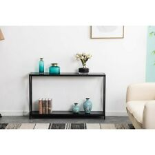 Console Table, Sofa Table, Metal Frame, Easy Assembly, for Entryway, Living Room