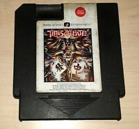 Tiles of Fate Nintendo NES VINTAGE CLASSIC ORIGINAL RETRO BLACK GAME CARTRIDGE