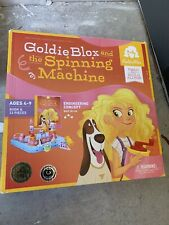 Goldie Blox and the Spinning Machine Game Read & Build Engineering Age 4+