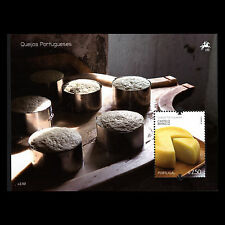 Portugal 2011 - Portuguese Cheeses Foot Gastronomy S/S - MNH