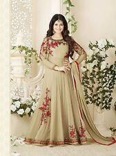 Fashionuma Ethnic New Designer Embroidered Gerorgette Anarkali Salwar Suit