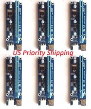 6X USB3.0 PCI-E Express 1x 16x Extender Riser Card Adapter Cable For GPU Mining