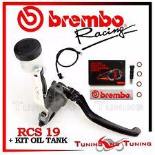 BREMBO RCS FRONT BRAKE MASTER CYLINDER RCS 19 + KIT OIL TANK 110A26310+110A26385