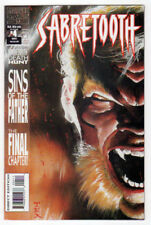 Marvel Comics Sabretooth (1993) #4 VF/NM Larry Hama Mark Texeira 'TEX' X-Men